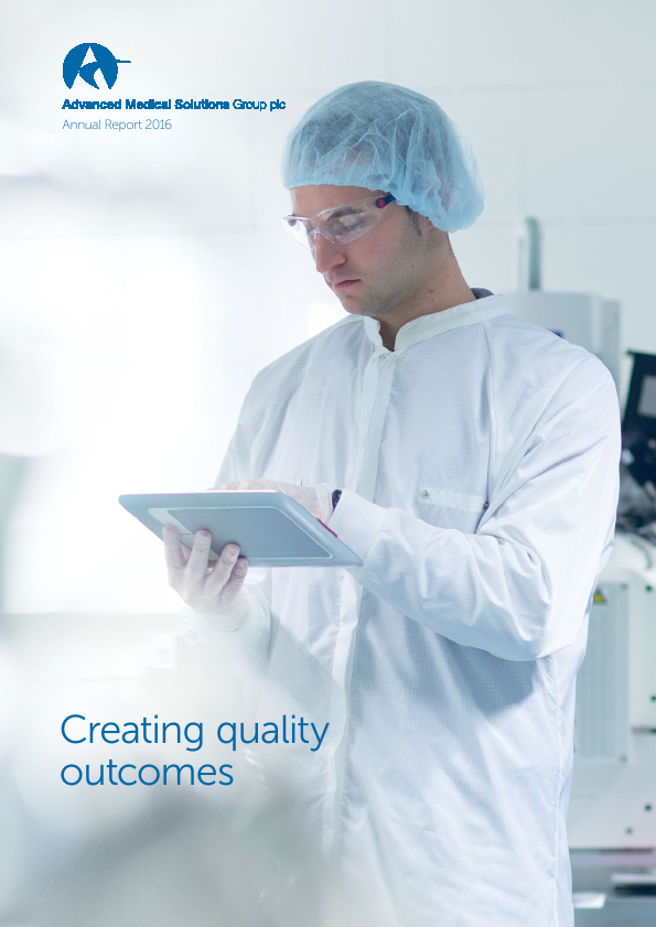 Advanced Medical Solutions Group   annual report