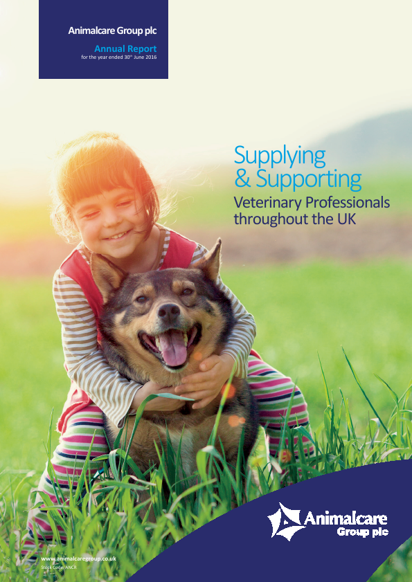 Animalcare Group Plc   annual report