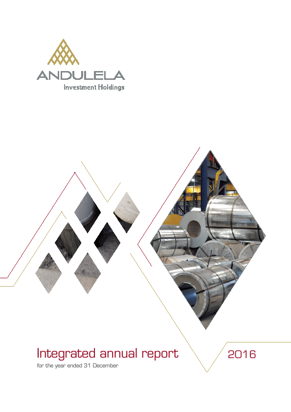 Andulela Investment Holdings   annual report