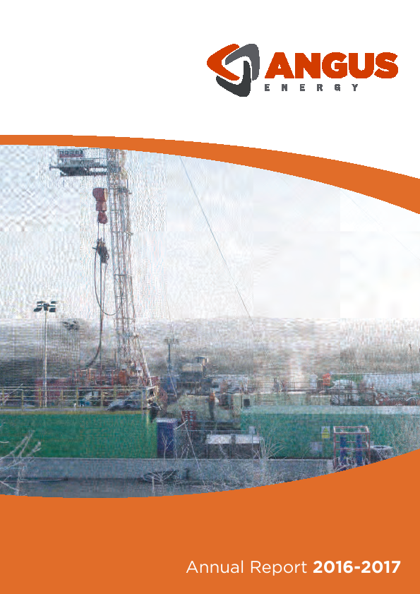 Angus Energy   annual report