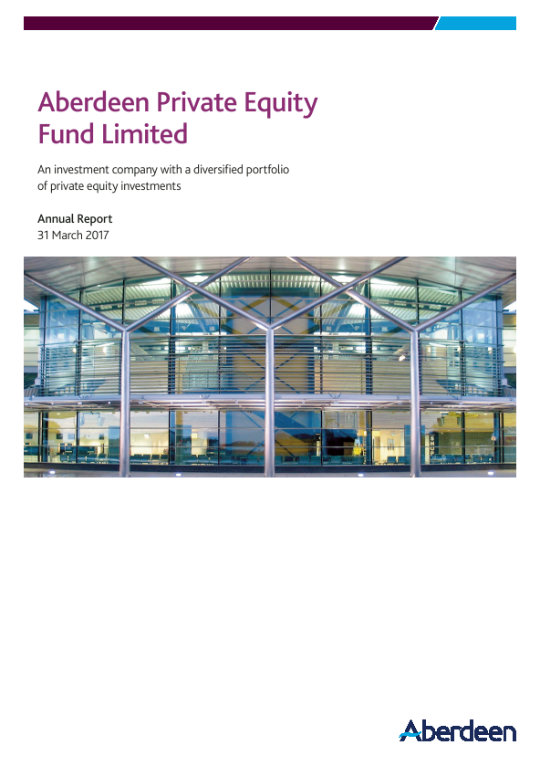 Aberdeen Private Equity Fund   annual report