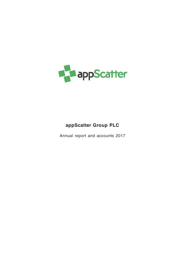 Appscatter   annual report