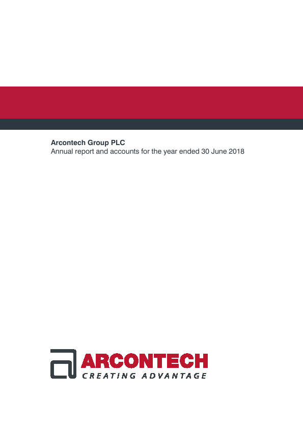 Arcontech Group Plc   annual report
