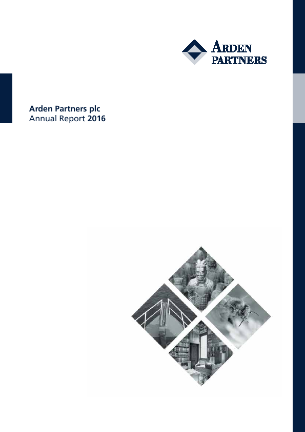Arden Partners Plc   annual report