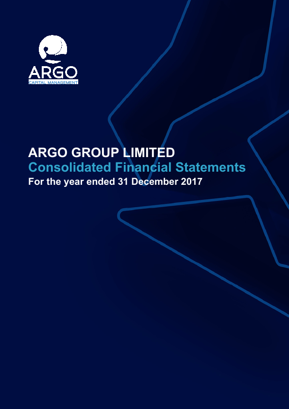 Argo Group   annual report