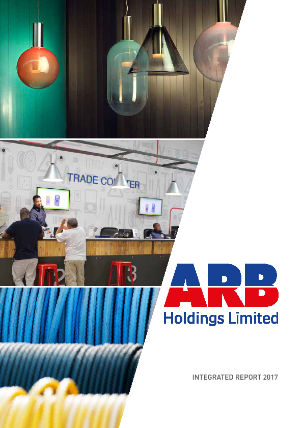 ARB Holdings   annual report