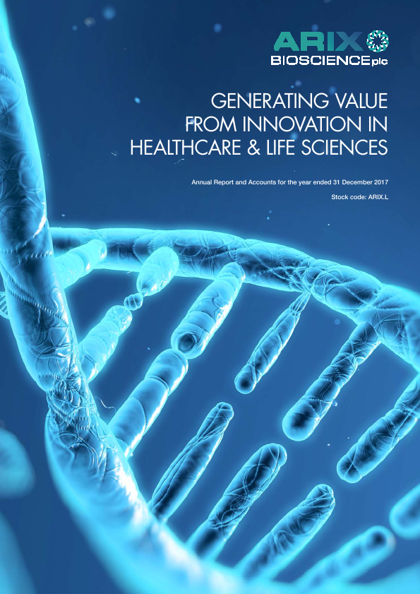 Arix Bioscience   annual report