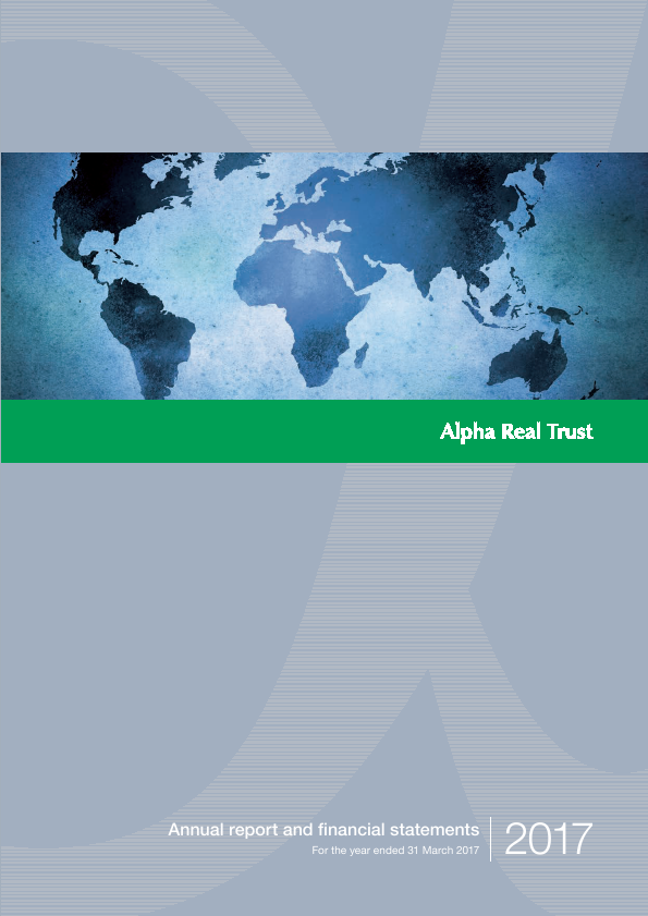 Alpha Real Trust   annual report