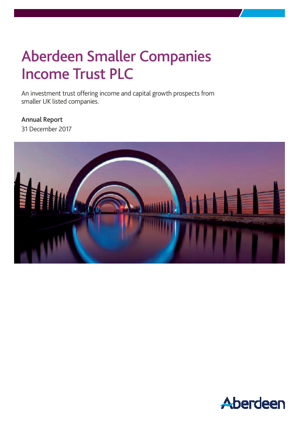 Aberdeen Smaller Companies Income Trust PLC (formerly Aberdeen Smaller Companies High Income Trust PLC)   annual report