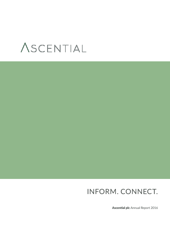 Ascential   annual report