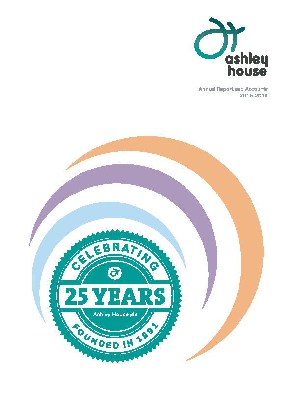 Ashley House Plc   annual report