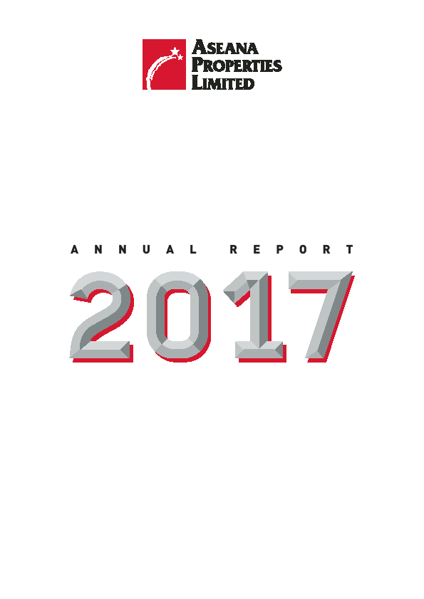 Aseana Properties   annual report