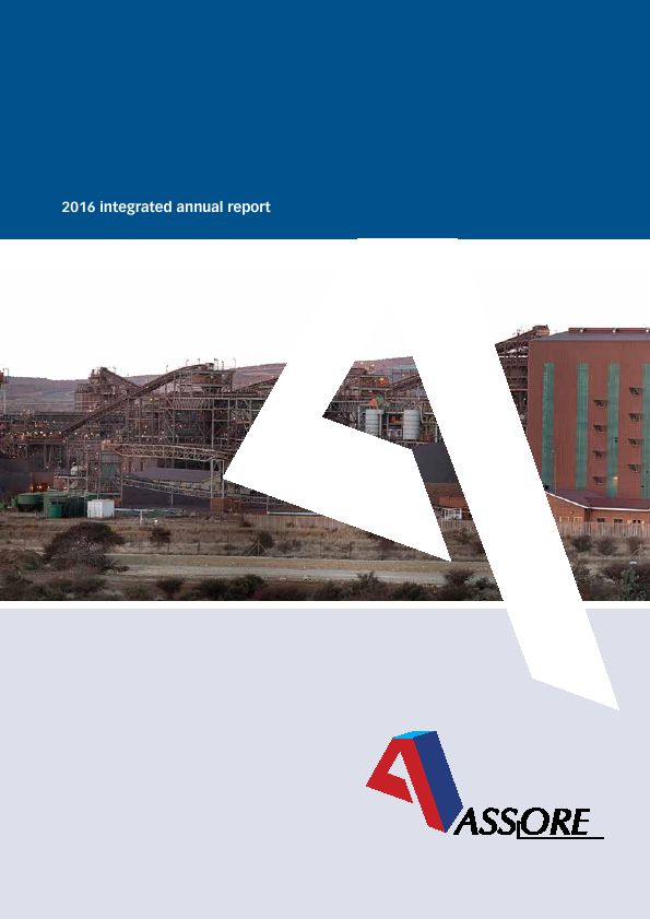 Assore   annual report