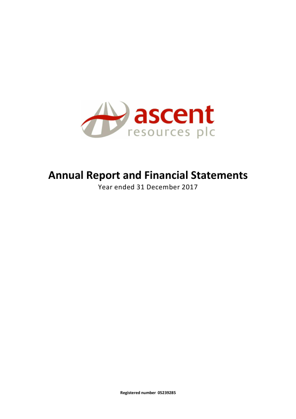 Ascent Resources   annual report