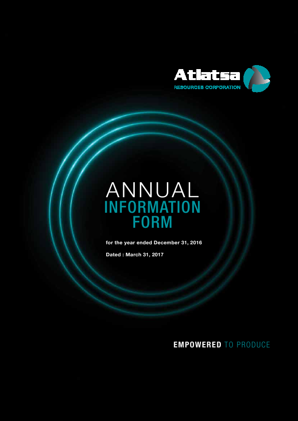 Atlatsa Resources   annual report
