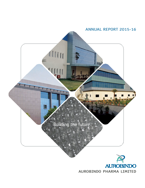 Aurobindo Pharma   annual report