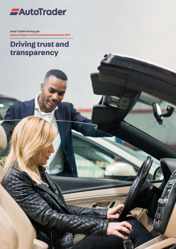Auto Trader Group Plc   annual report