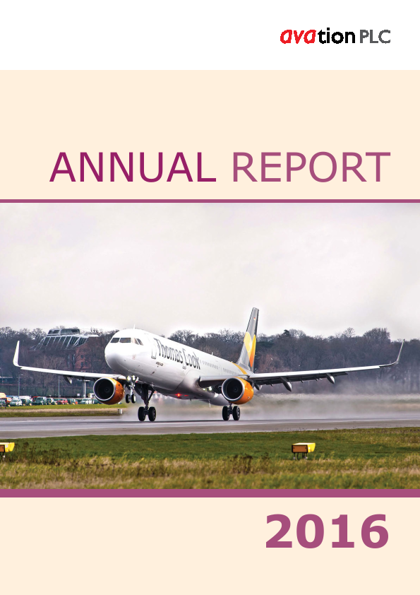 Avation Plc   annual report
