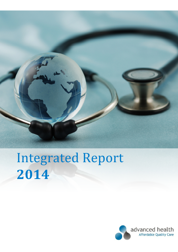 Advanced Health   annual report