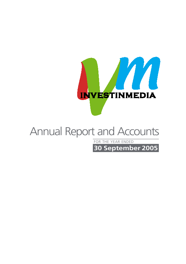 Avesco Group Plc   annual report