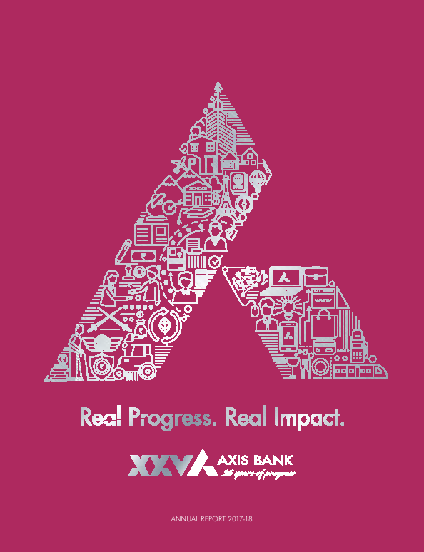 Axis Bank   annual report