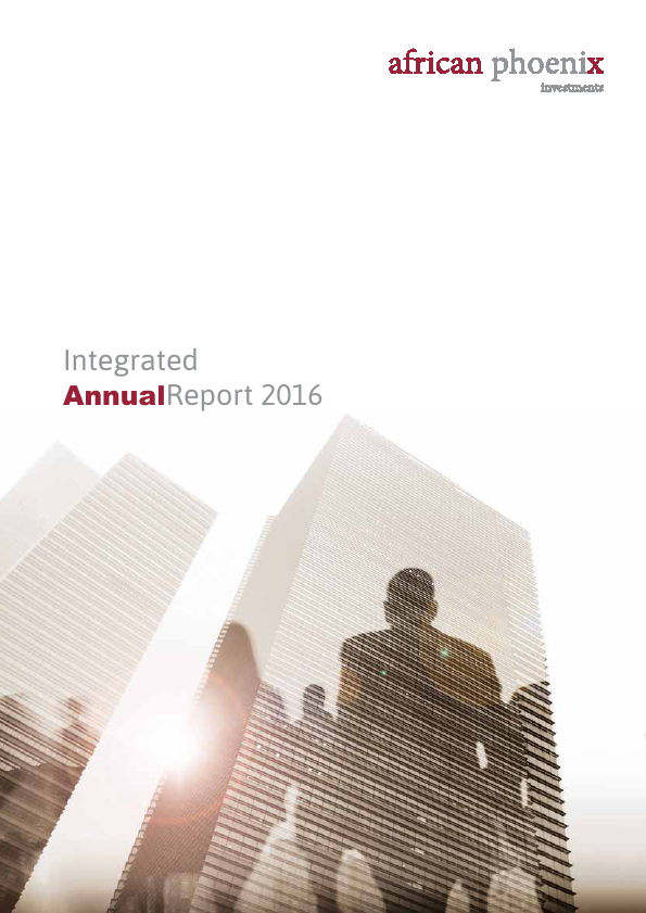 African Phoenix Investments   annual report