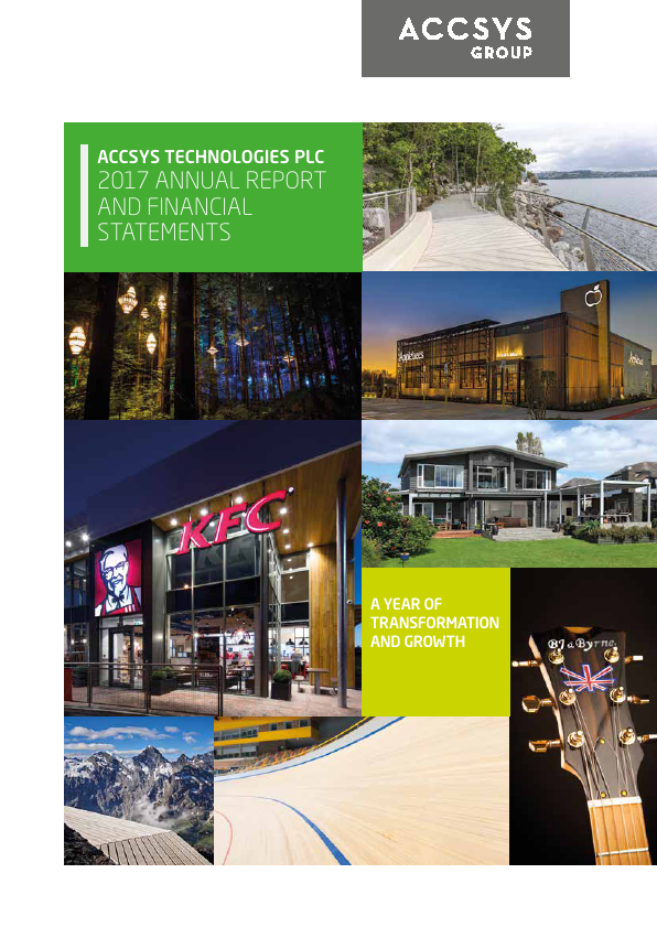 Accsys Technologies   annual report