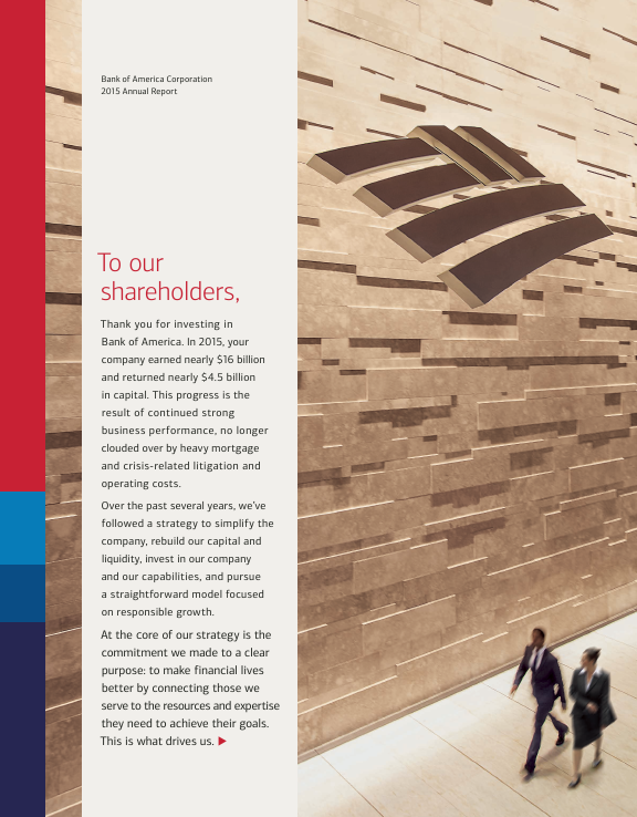 Bank of America Corp.   annual report
