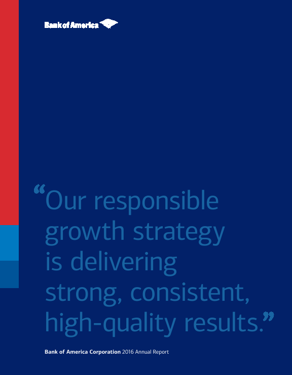 Bank Of America Corp   annual report