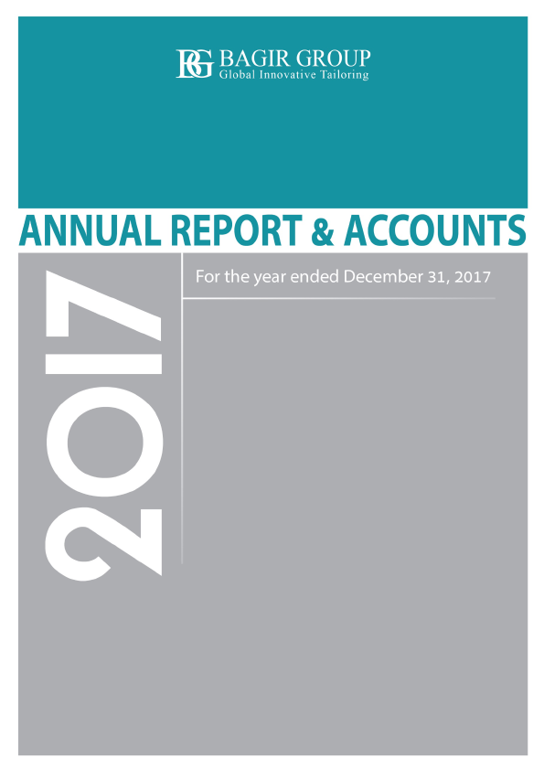 Bagir Group   annual report