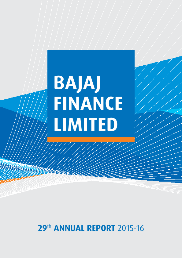 Bajaj Finance   annual report