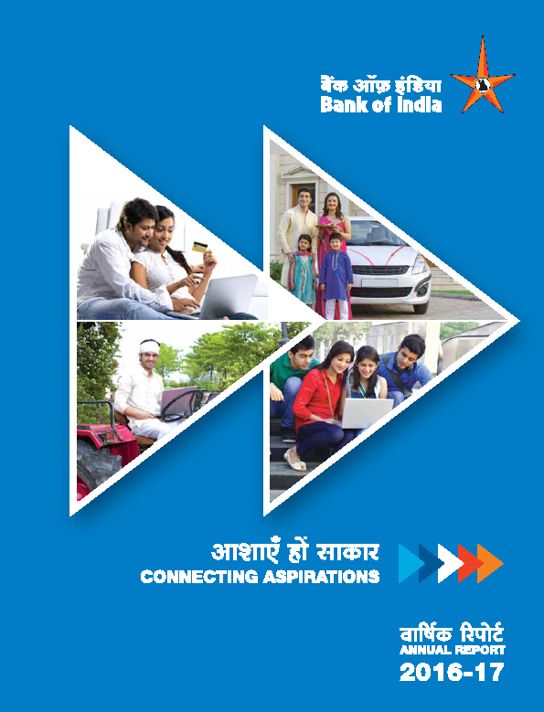 Bank of India   annual report