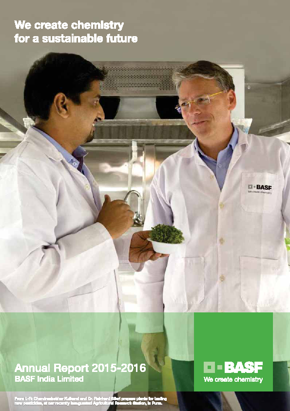 BASF India   annual report