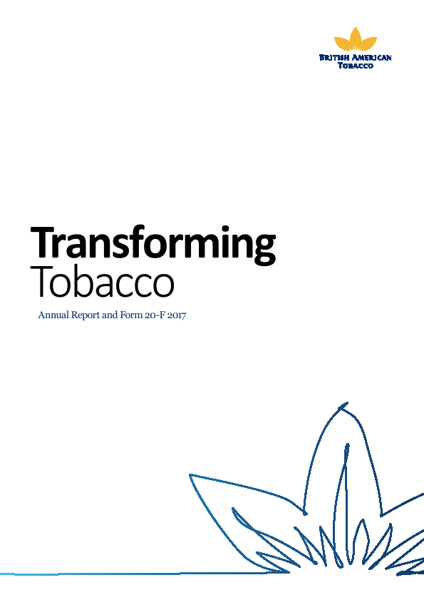 British American Tobacco   annual report