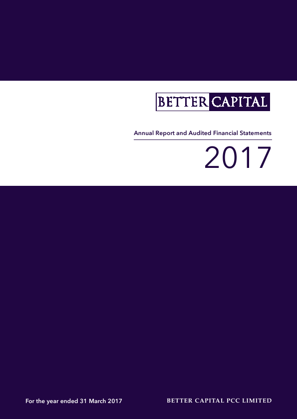 Better Capital PCC Ld   annual report