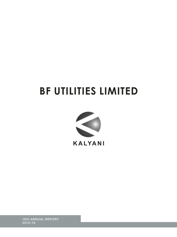 BF Utilities   annual report