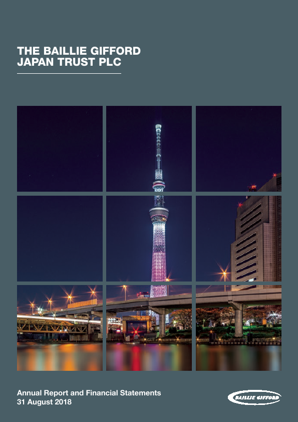 Baillie Gifford Japan Trust   annual report