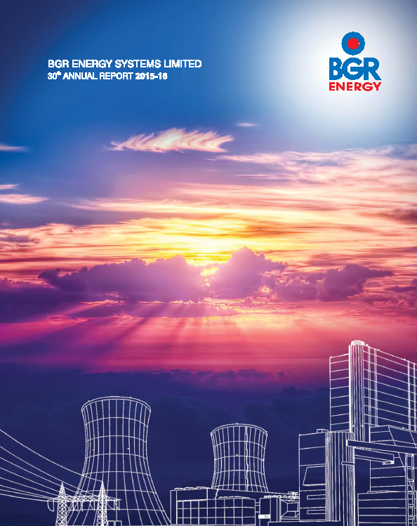 BGR Energy Systems   annual report