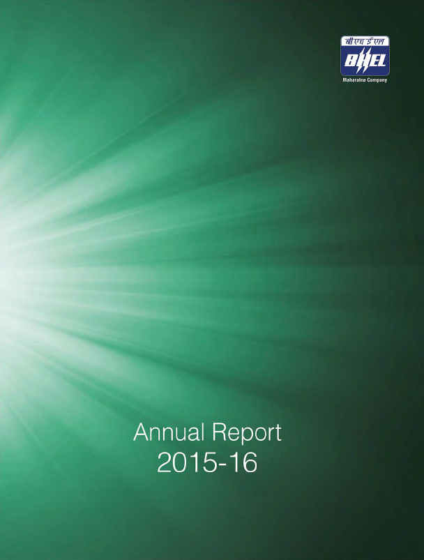 Bharat Heavy Electricals   annual report