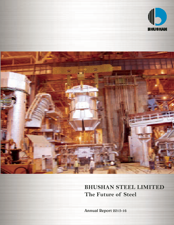 Bhushan Steel   annual report