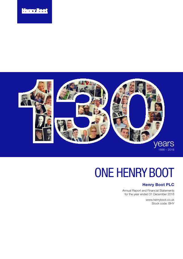 Boot(Henry)   annual report