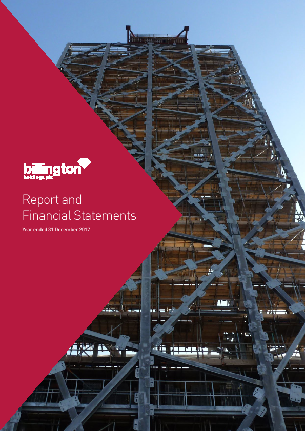 Billington Holdings Plc   annual report