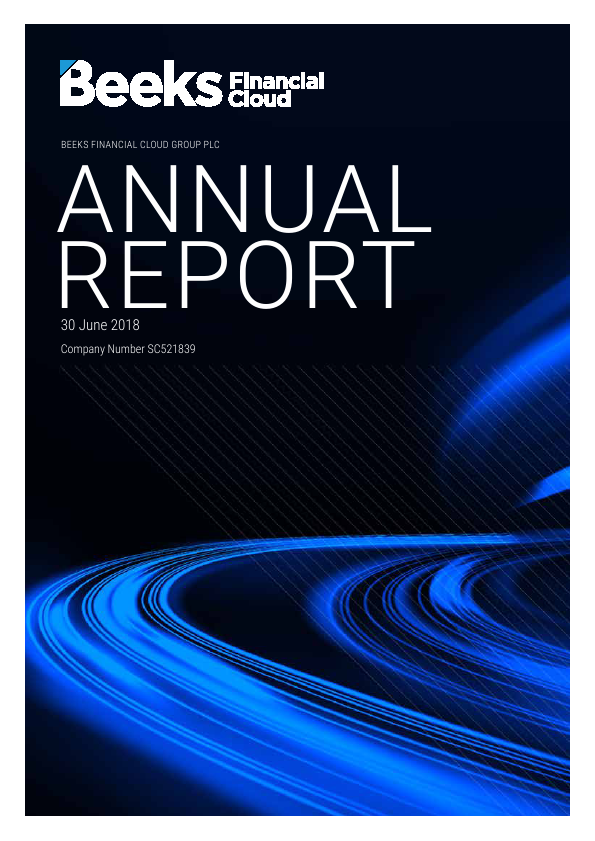 Beeks Financial Cloud   annual report