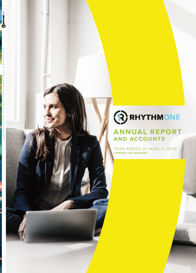 Rhythmone(Previously Blinkx)   annual report