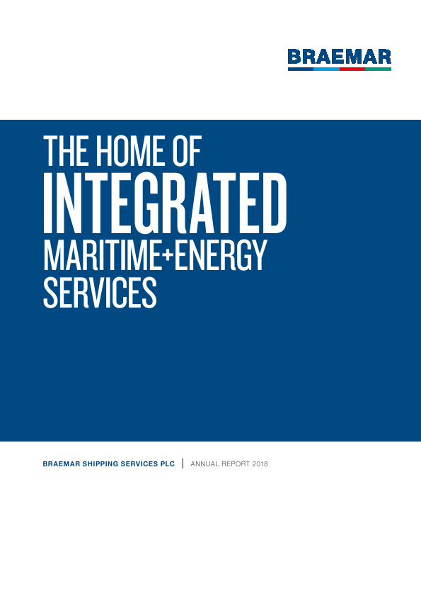 Braemar Shipping Services Plc   annual report