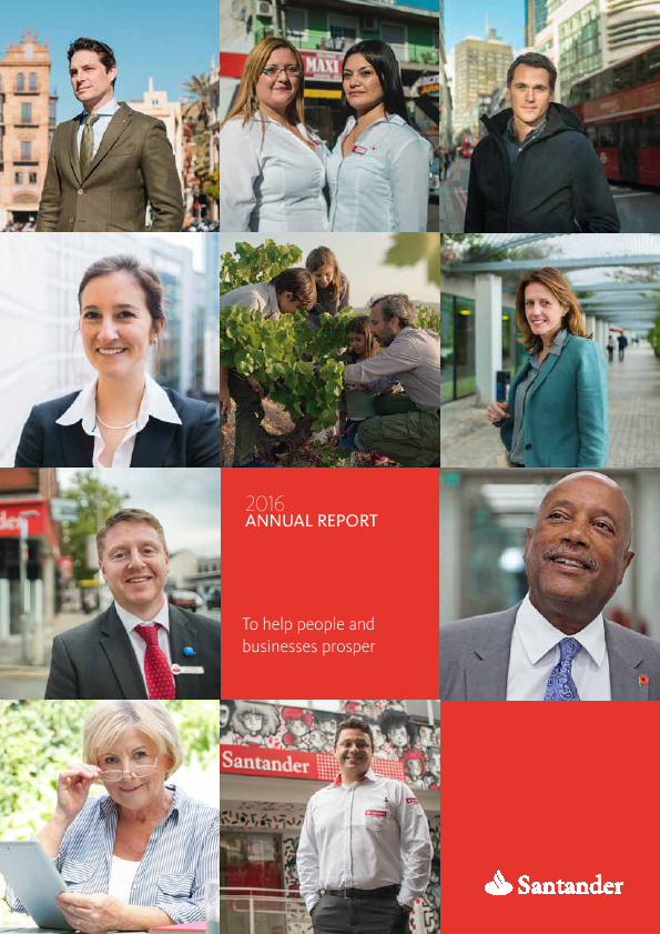 Banco Santander SA   annual report