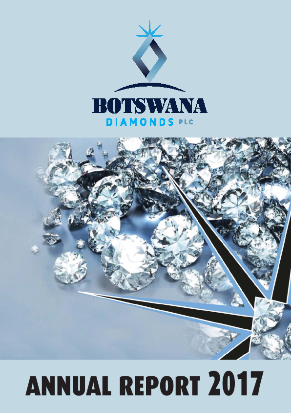 Botswana Diamonds Plc   annual report