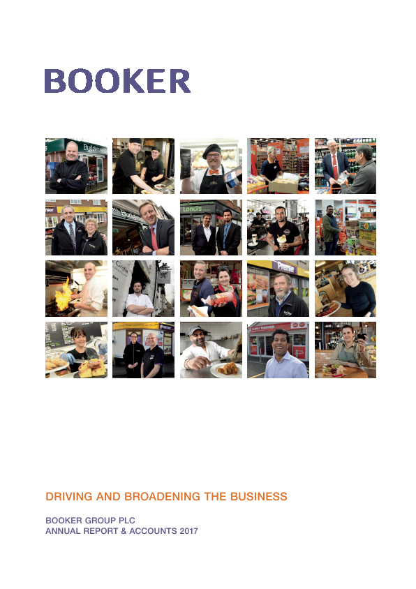 Booker Group Plc   annual report
