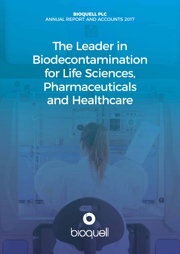 Bioquell   annual report