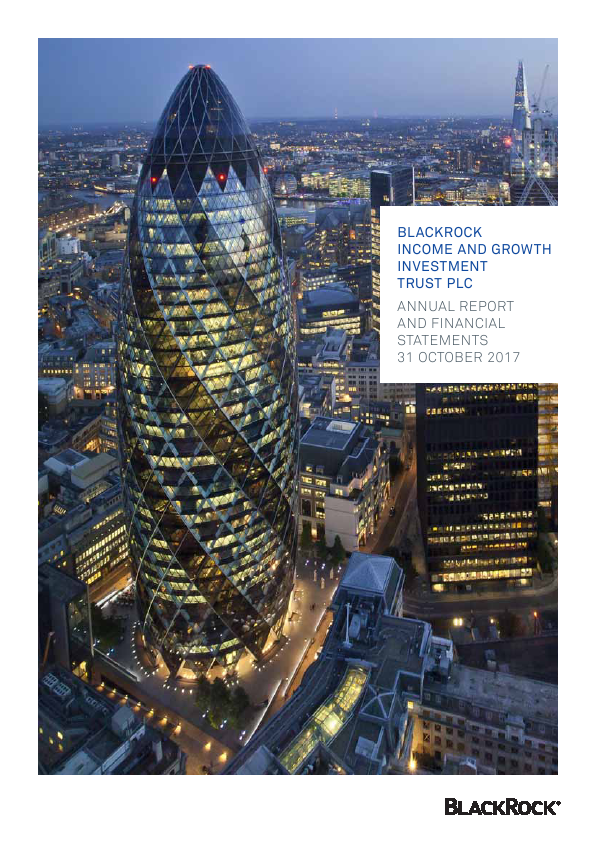 Blackrock Income & Growth Investment Trust   annual report